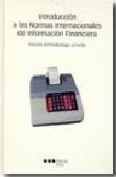 Portada de Introduccion A Las Normas Internacionales De Informacion Financie Ra
