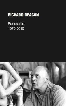 Portada de Por Escrito 1970-2010
