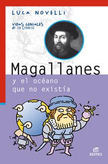 Portada de Magallanes (spanish Edition)  (vidas Geniales De La Ciencia)