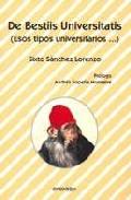 Portada de De Bestiis Universitatis (esos Tipos Universitarios)