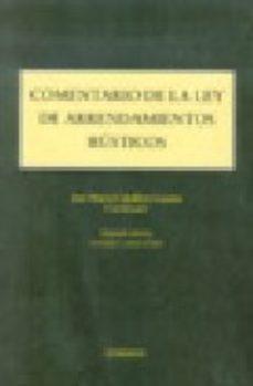 Portada de Comentario De La Ley De Arrendamientos Rusticos (2ª Ed. )