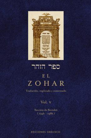 Portada de El Zohar (vol. 5)