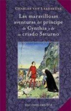 Portada de Las Maravillosas Aventuras Del Principe De Cynthia Y De Su Criado Saturno
