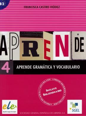 Portada de Aprende Gramatica Y Vocabulario 4