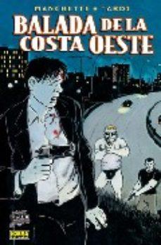 Portada de Balada De La Costa Oeste (comic Noir Nº 8)