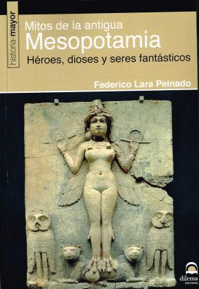 Portada de Mitos De La Antigua Mesopotamia