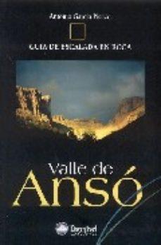 Portada de Valle De Anso : Guia De Escalada En Roca