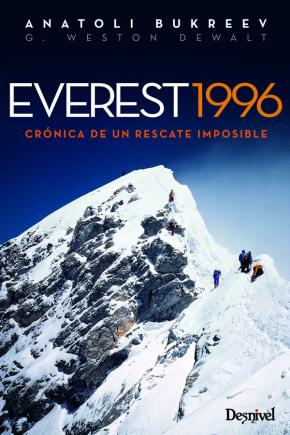 Portada de Everest 1996: Cronica De Un Rescate Imposible (4ª Ed.)