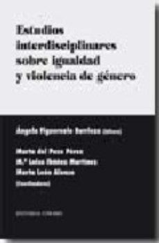 Portada de Estudios Interdisciplinares Sobre Igualdad Y Violencia De Genero