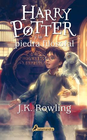 Portada de Harry Potter Y La Piedra Filosofal (rustica)