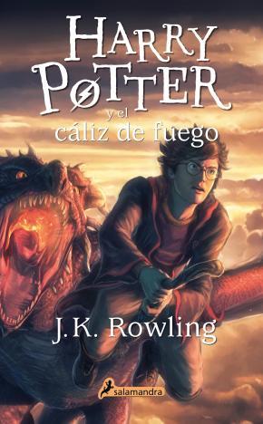 Portada de Harry Potter Y El Caliz De Fuego (Rustica)