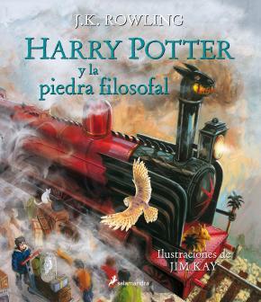 Portada de Harry Potter Y La Piedra Filosofal (Ilustrado)