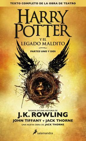 Portada de Harry Potter Y El Legado Maldito
