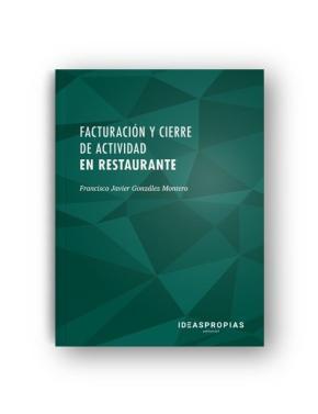 Portada de Facturacion Y Cierre De Actividad En Restaurante