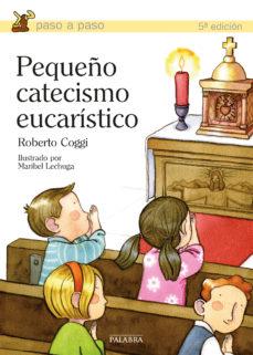Portada de Pequeño Catecismo Eucaristico.