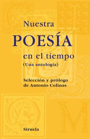 Portada de Nuestra Poesia En El Tiempo: Una Antologia