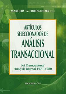 Portada de Articulos Seleccionados De Analisis Transaccional Del Transaction Al