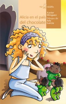 Portada de Alicia En El Pais Del Chocolate