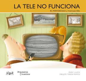 Portada de La Tele No Funciona -manuscrita-