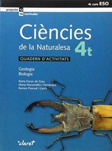 Portada de Ciències De La Naturalesa 4º Eso Quadern D Activitats