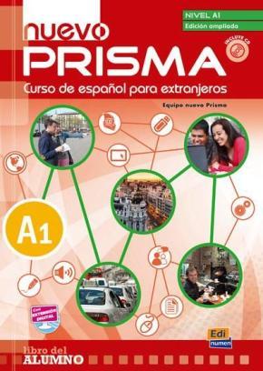 Portada de Nuevo Prisma A1 Alumno (ed.ampliada) (español Extranjeros)