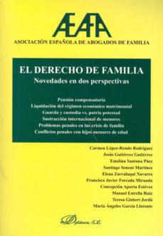 Portada de El Derecho De Familia