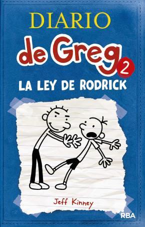 Portada de Diario De Greg 2 : La Ley De Rodrick