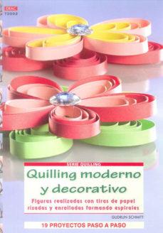Portada de Quilling Moderno Y Decorativo
