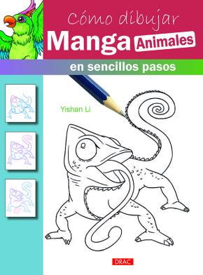 Portada de Como Dibujar Manga Animales