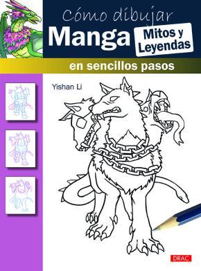 Portada de Como Dibujar Manga Mitos Y Leyendas