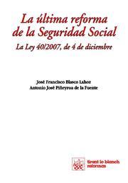 Portada de La Ultima Reforma De La Seguridad Social