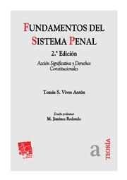 Portada de Fundamentos Del Sistema Penal (2ª Ed.)