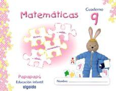Portada de Iniciacion A Las Matematicas 9. (papapapu) Educacion Infantil 3-5 Años