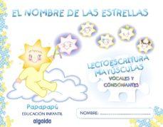 Portada de El Nombre De Las Estrellas. Mayusculas (ed. Infantil 3-5 Años)