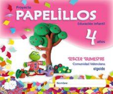 Portada de Papelillos 4 Años. 3º Trimestre (educacion Infantil Comunidad Val Enciana)