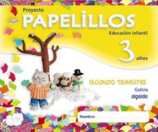 Portada de Papelillos 3. 2º Trimestre Educacion Infantil – 3-5 Años – 3 Años
