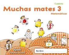 Portada de Muchas Mates 3. Educacion Infantil  3/5