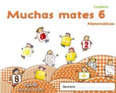 Portada de Muchas Mates 6 Educacion Infantil  3/5