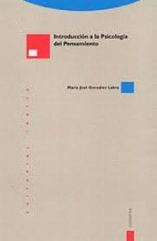 Portada de Introduccion A La Psicologia Del Pensamiento (6ª Ed.)
