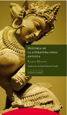 Portada de Historia De La Literatura India Antigua