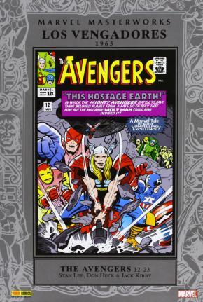 Portada de Marvel Masterworks Los Vengadores Nº 2: 1965 (contiene The Avenge S 12-23 Usa)