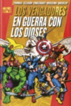Portada de Los Vengadores: En Guerra Con Los Dioses