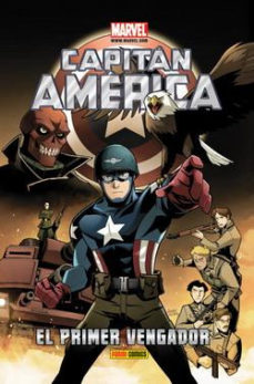 Portada de Capitan America: El Primer Vengador