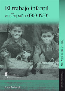Portada de El Trabajo Infantil En España (1700-1950)