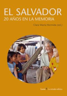 Portada de El Salvador 20 Años En La Memoria