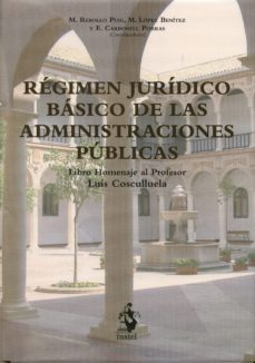 Portada de Regimen Juridico Basico De Las Administraciones Publicas