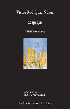 Portada de Despegue (xxviii Premio Loewe)