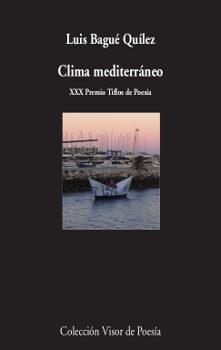 Portada de Clima Mediterraneo (xxx Premio Tiflos De Poesia)