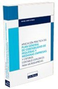 Portada de Aplicacion Practica Del Plan General De Contabilidad De Pymes
