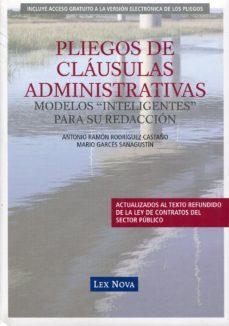 Portada de Pliegos De Clausulas Administrativas: Modelos Inteligentes Para S U Redaccion